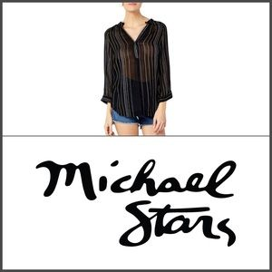 ⭐️ Michael Stars Beach Stripe Easy Tunic Size XS